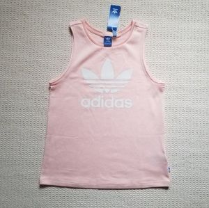 Adidas pink loose fitting tank size S nwt!! 🔥